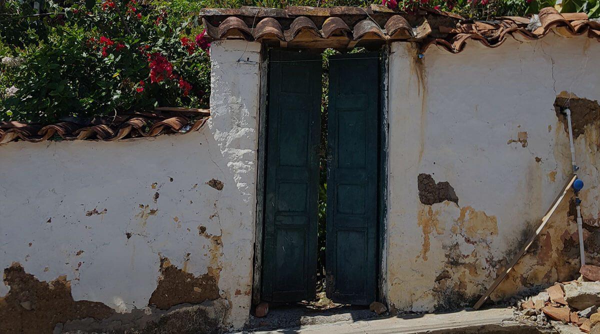 fachada en simacota santander colombia