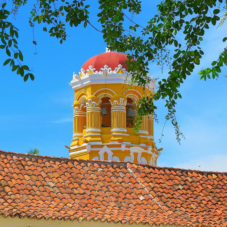 Cupula de la Iglesia de Santa Bárbara Mompox