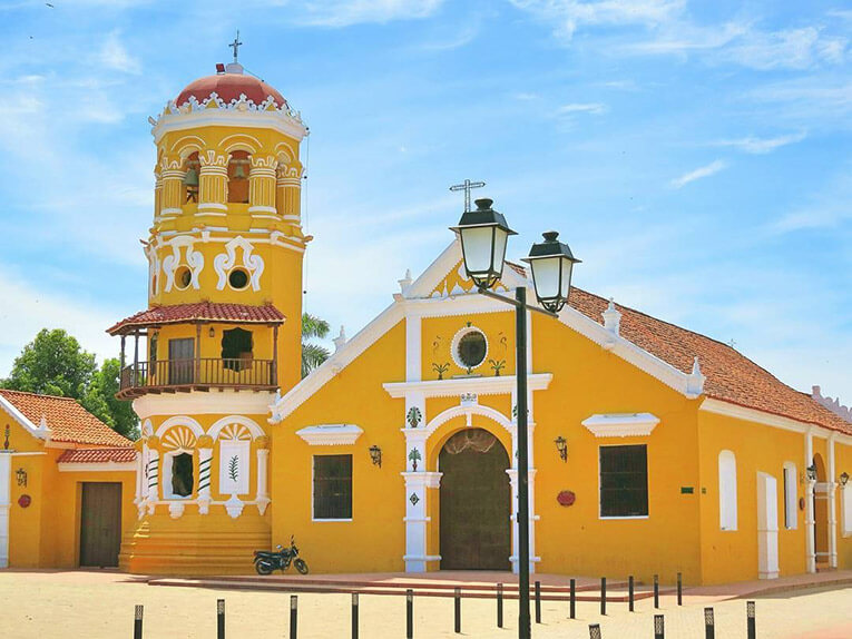 Santa Barbara Church Mompox