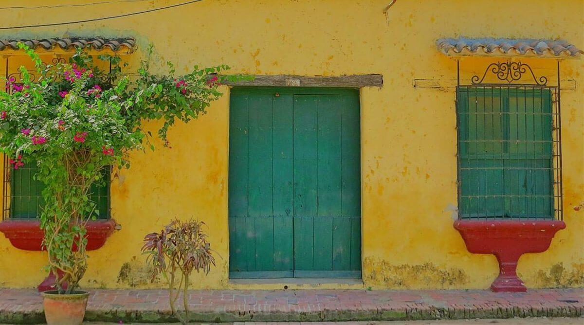 Fachadas de Mompox Colombia