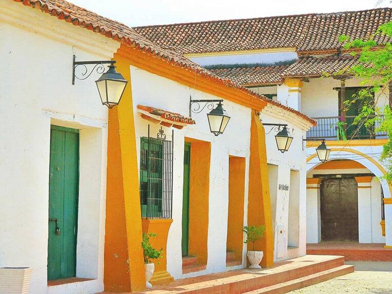 Calles coloniales de Mompox