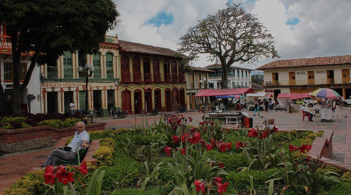 Jerico, pueblo de colores en el suroeste de Antioquia