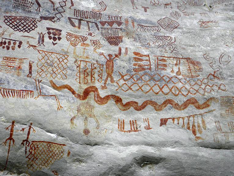 Pictogramas de Cerro Azul