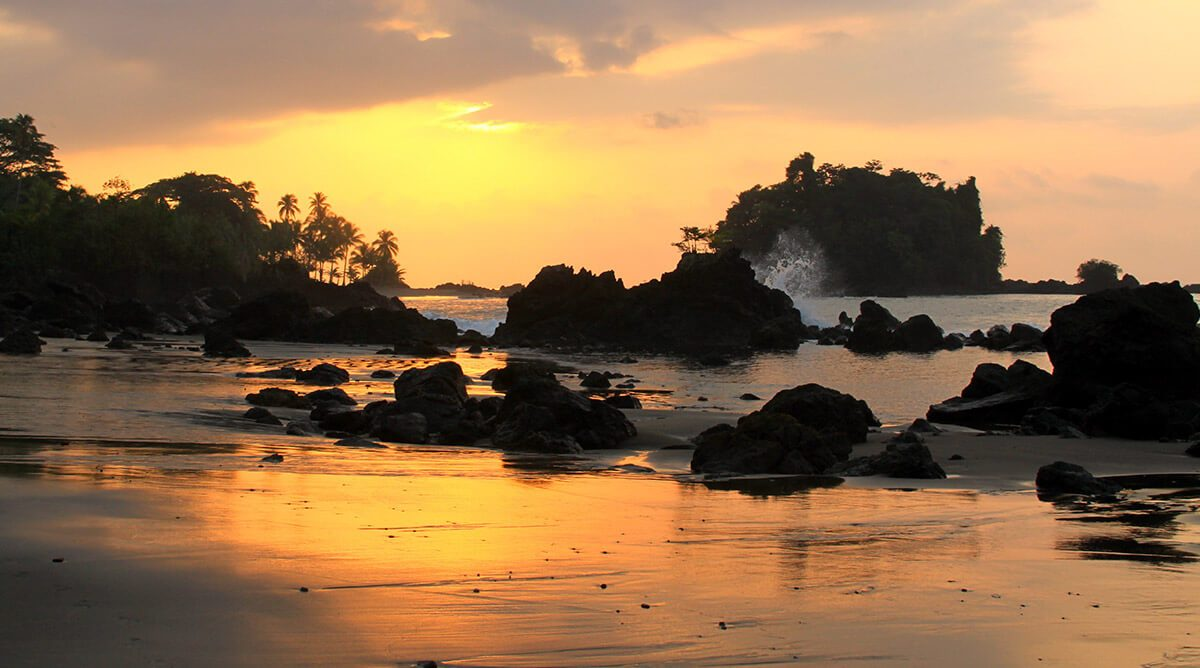 Atardecer Nuquí Chocó