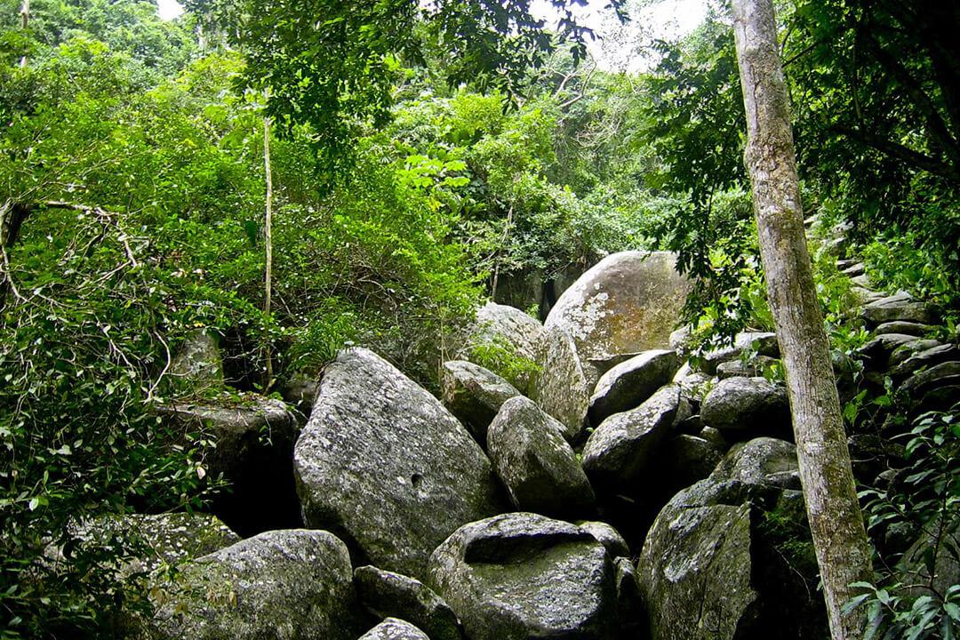 Hiking Tayrona Park