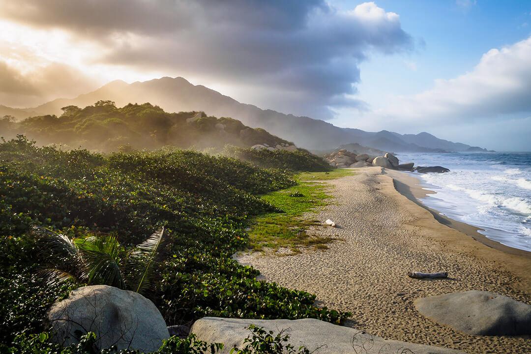 Playa Arrecifes - Parque Tayrona