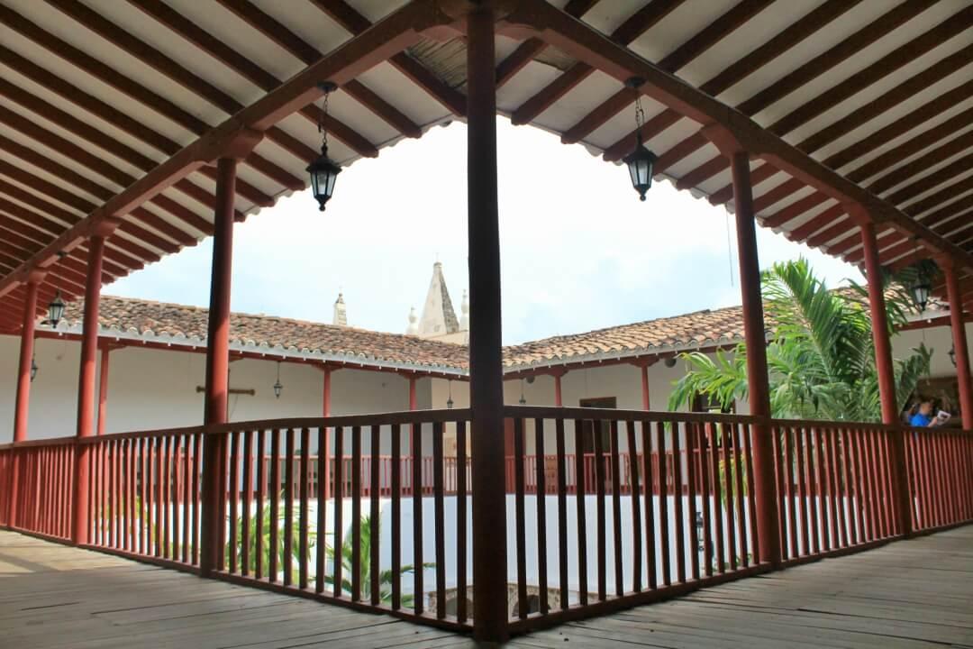 Interior museo de arte religioso Santa Fe de Antioquia