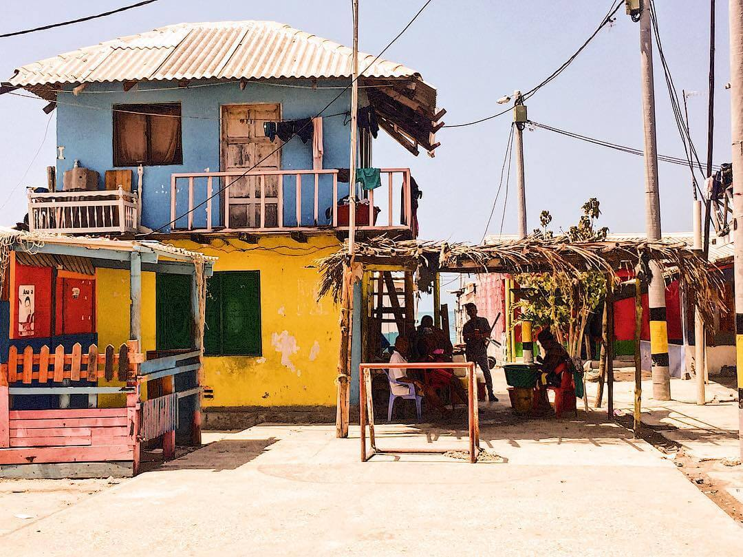 Calles de Santa Cruz del islote