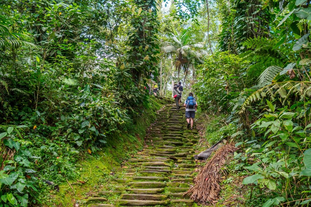 Hiking through Lost City