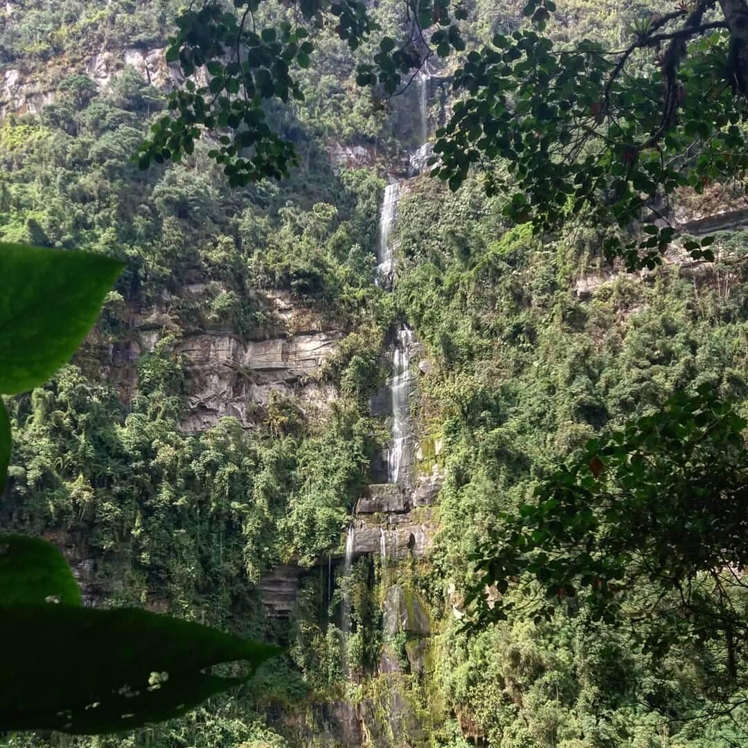 La chorrera waterfall - Cundinamarca