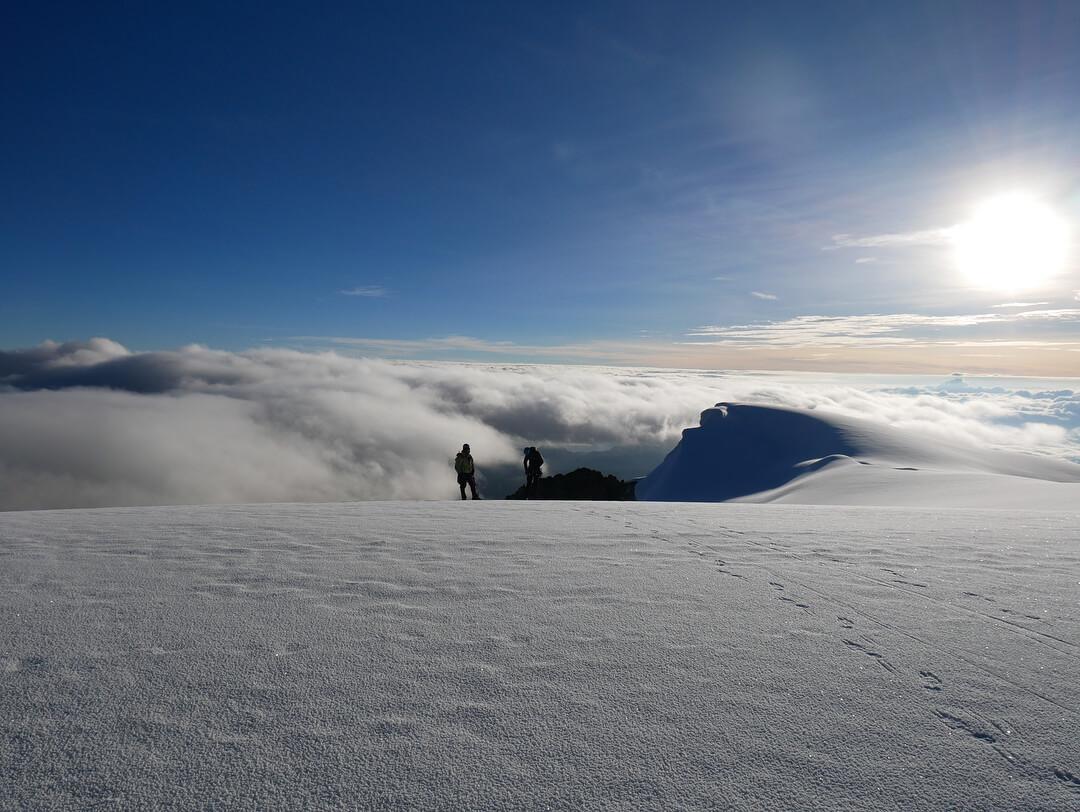Escalar un nevado en Semana Santa