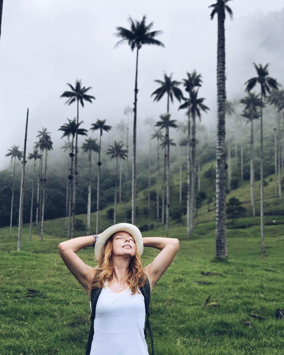 Hiking in the Cocora Valley