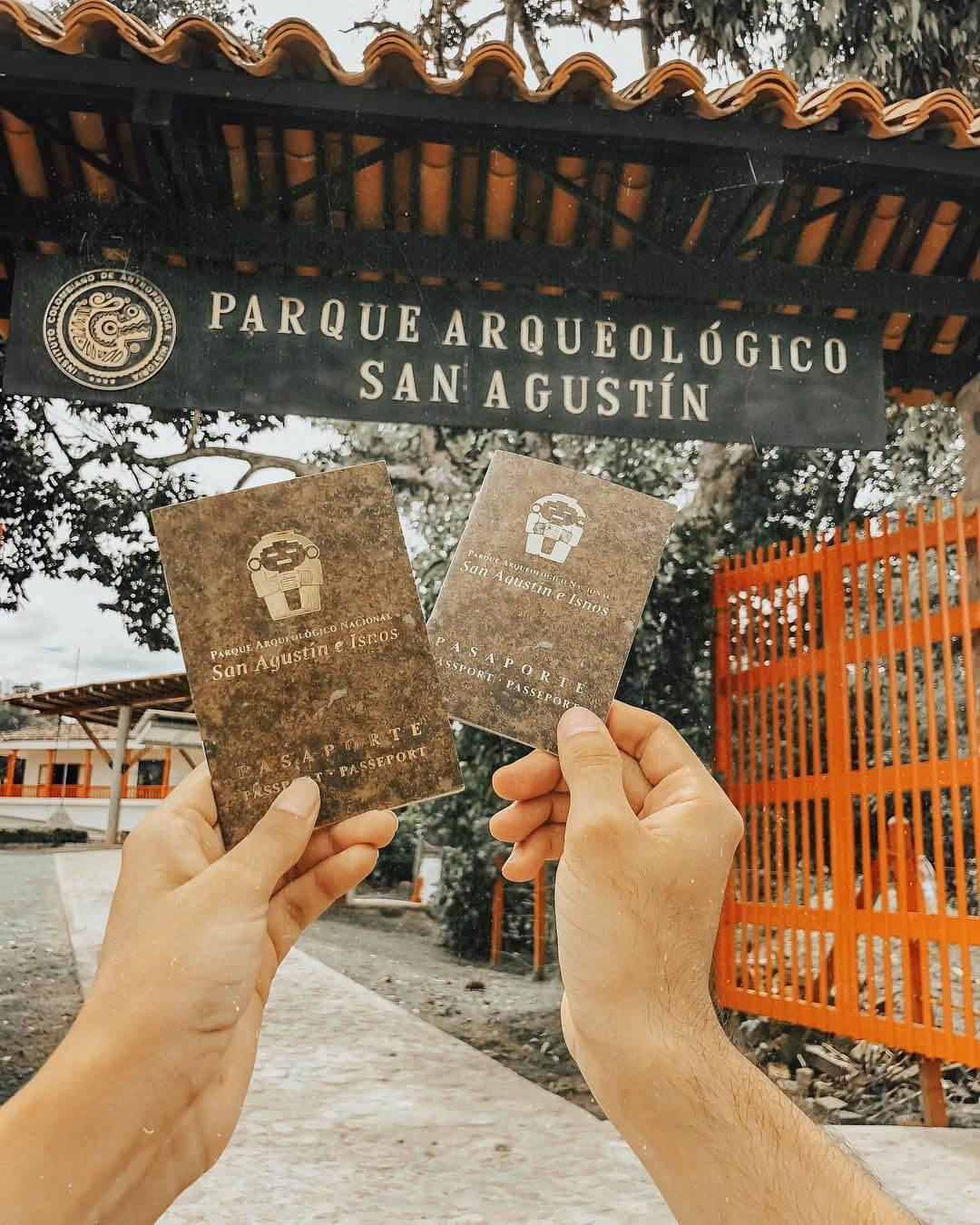 Pasaporte Parque Arqueológico San Agustín una buena opción para definir donde ir en semana santa
