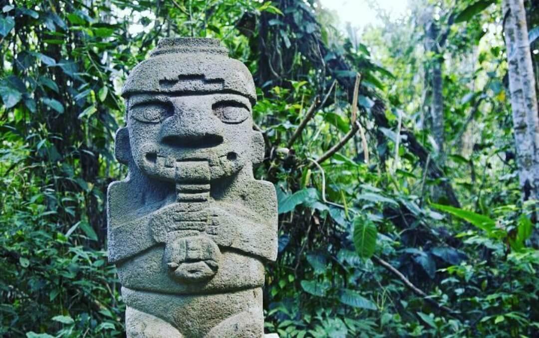 Escultura precolombina San Agustín
