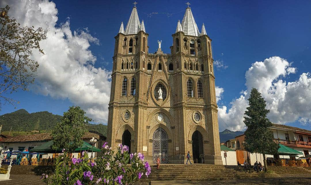 Church of Jardín Antioquia