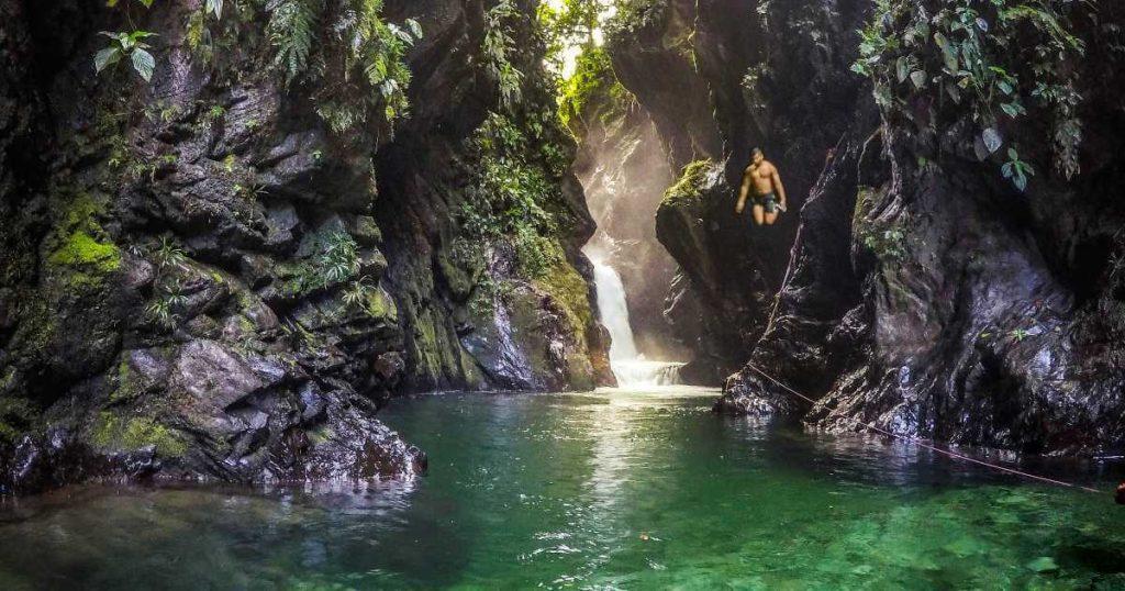 Donde queda la Cascada La Sirena
