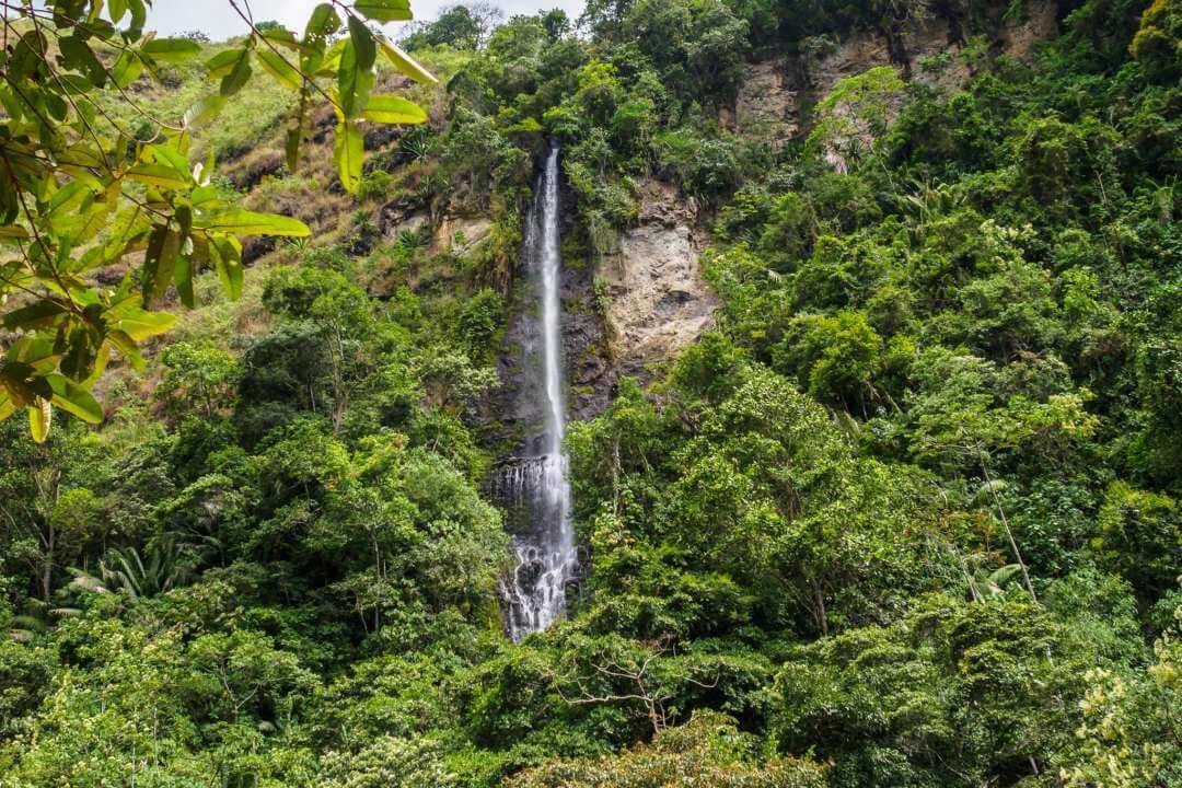 Waterfall of San Agustín
