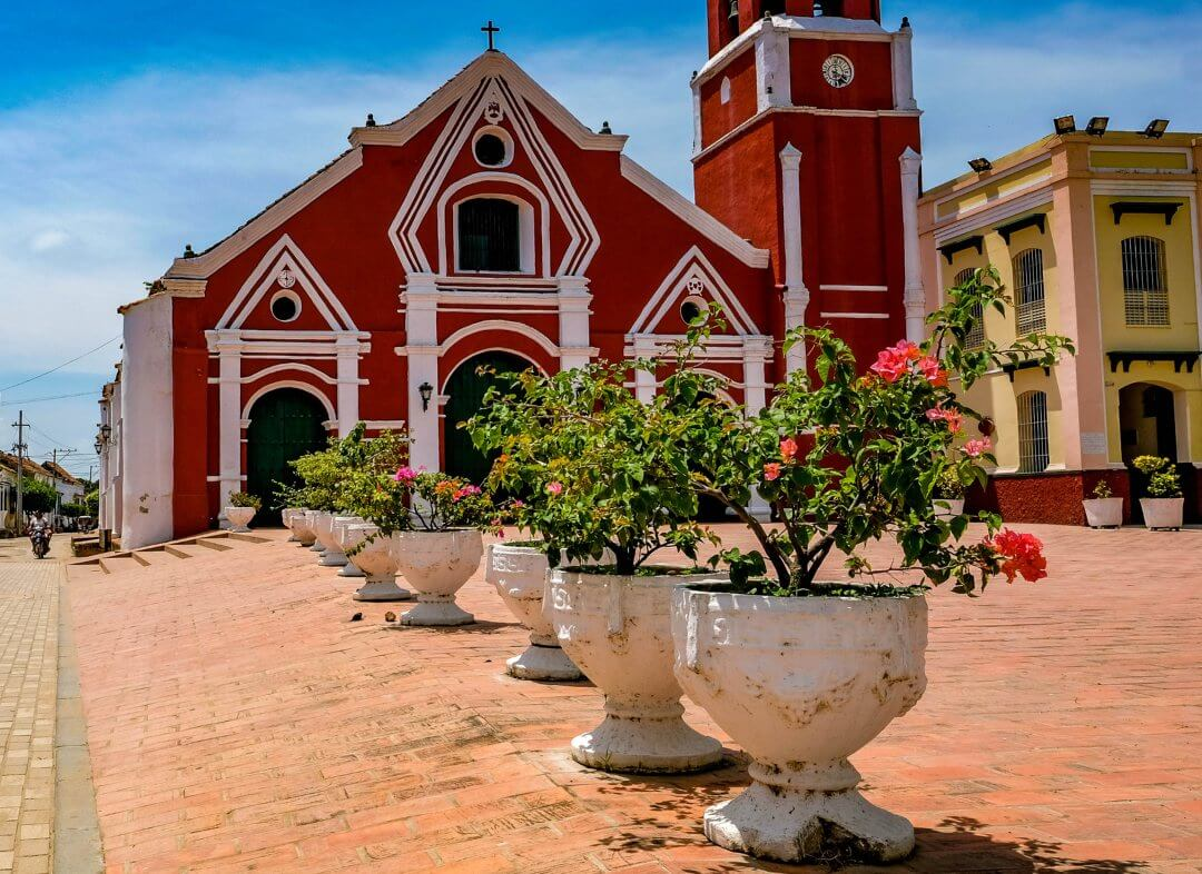 Church of San Francisco in Mompox