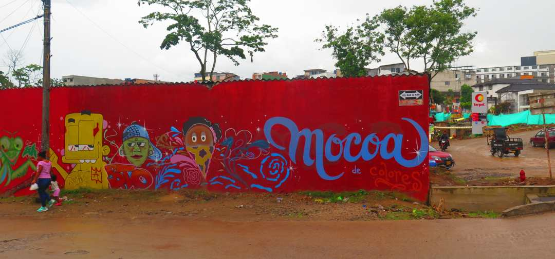 How to get to Mocoa Colombia