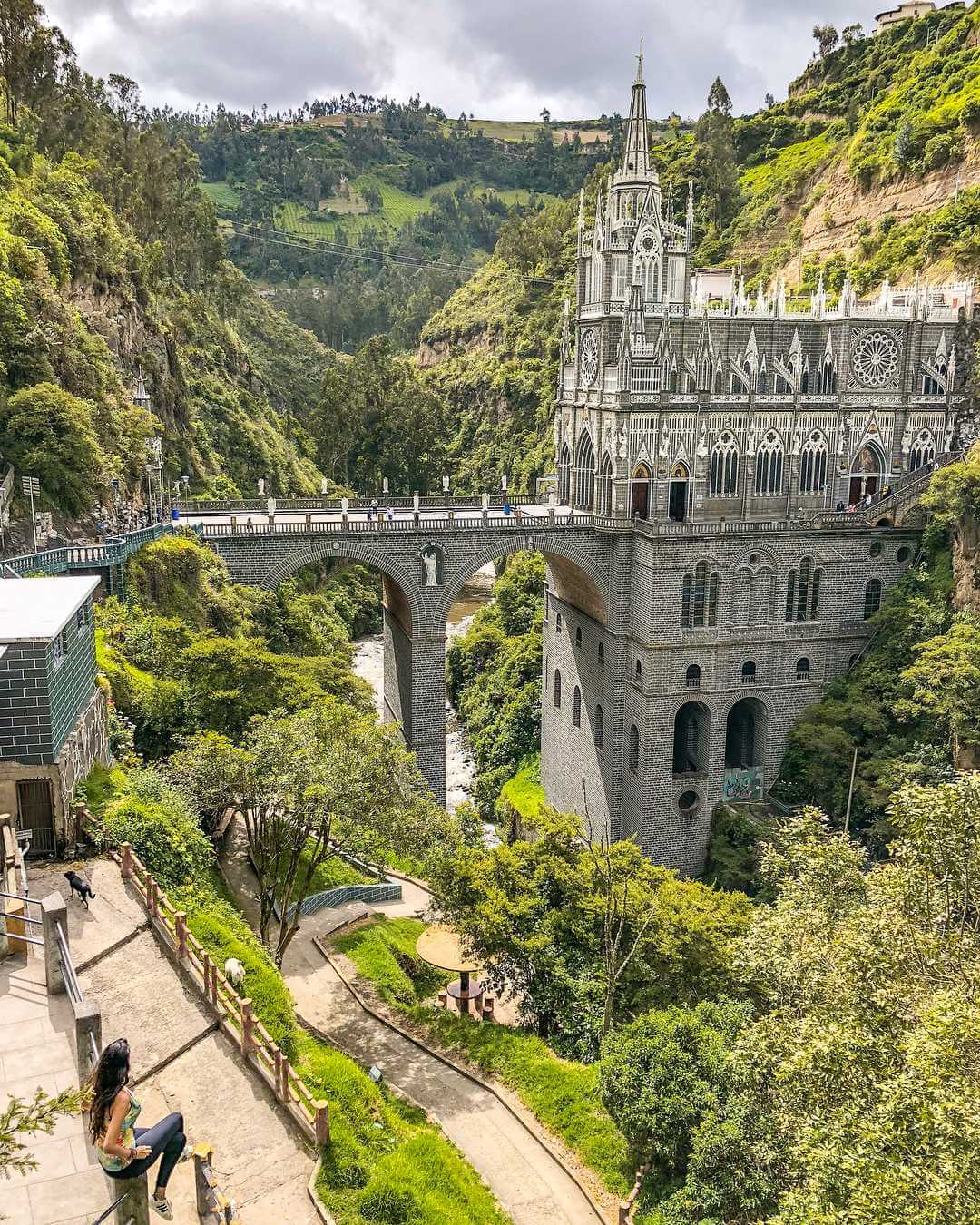 Sanctuary and Canyon of Las Lajas