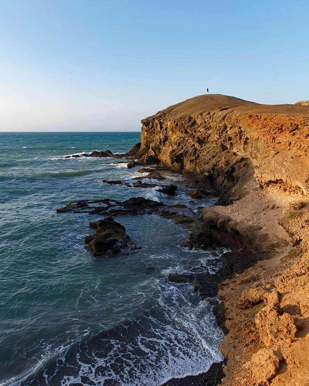 Cliff of Punta Gallinas