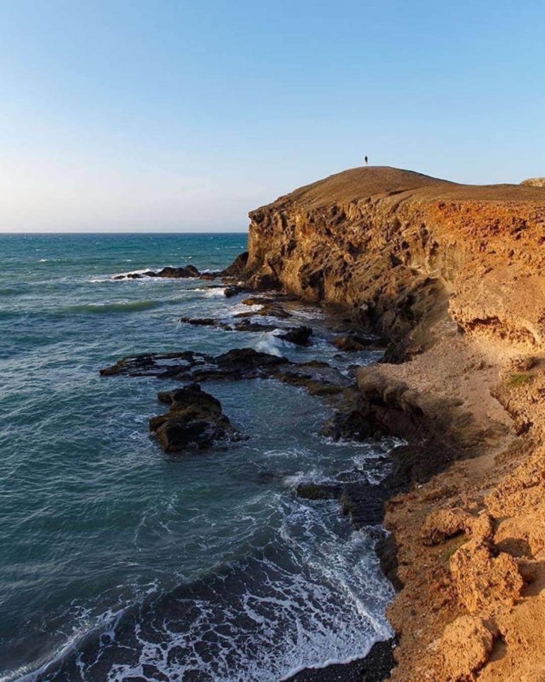 Acantilado de Punta Gallinas