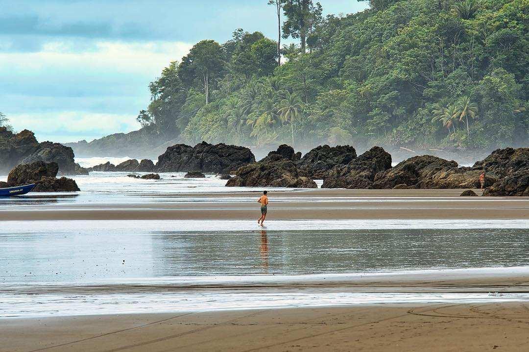 Paisaje de Colombia en el Chocó