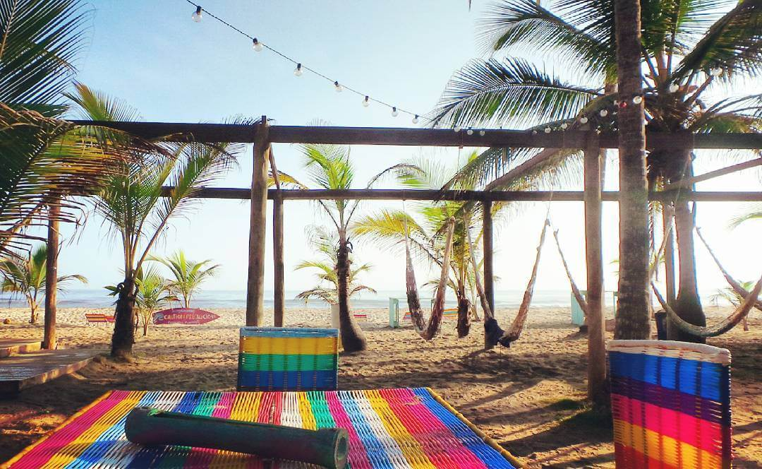 Lodging near Tayrona