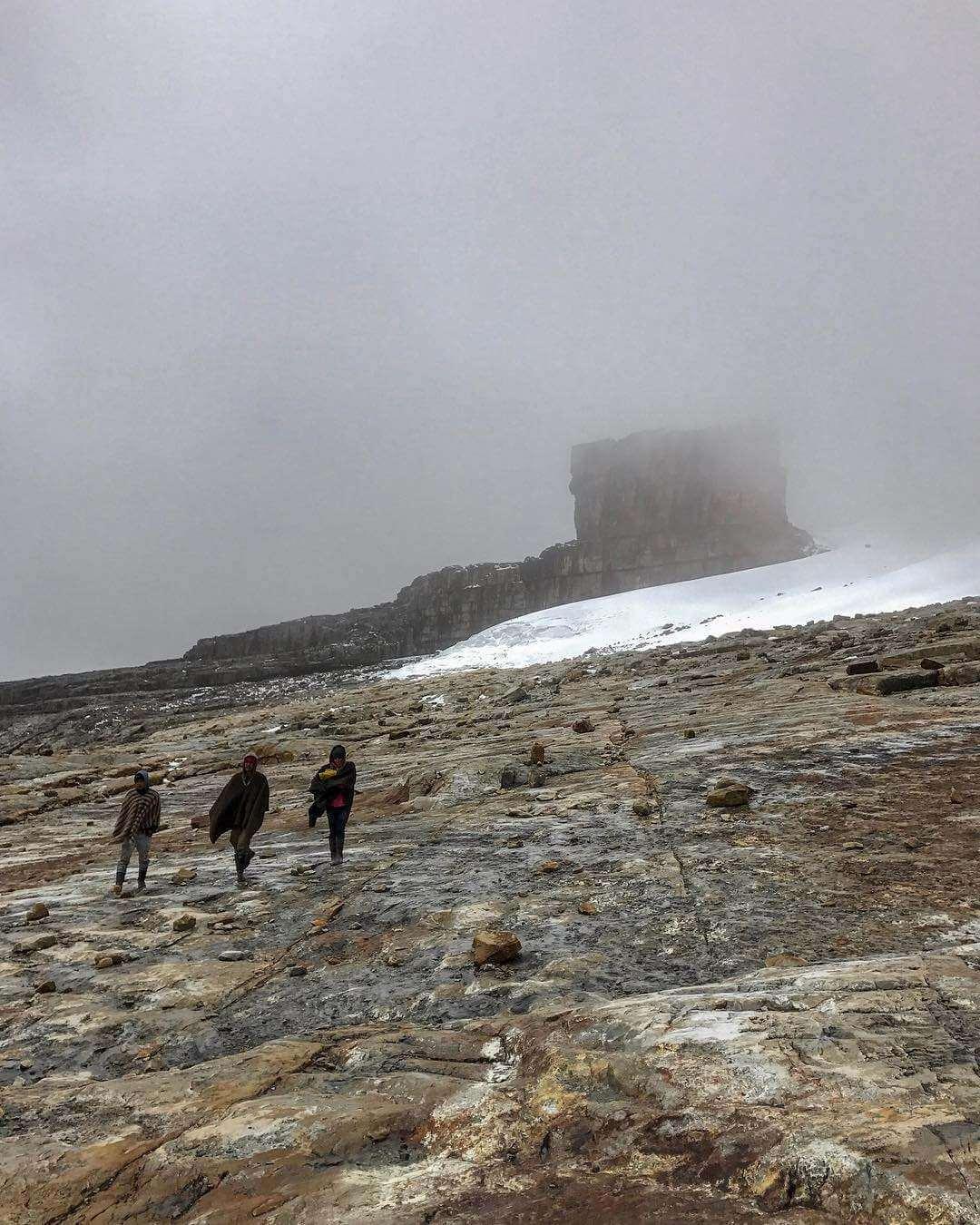 Caminata en el Parque Nacional Natural El Cocuy