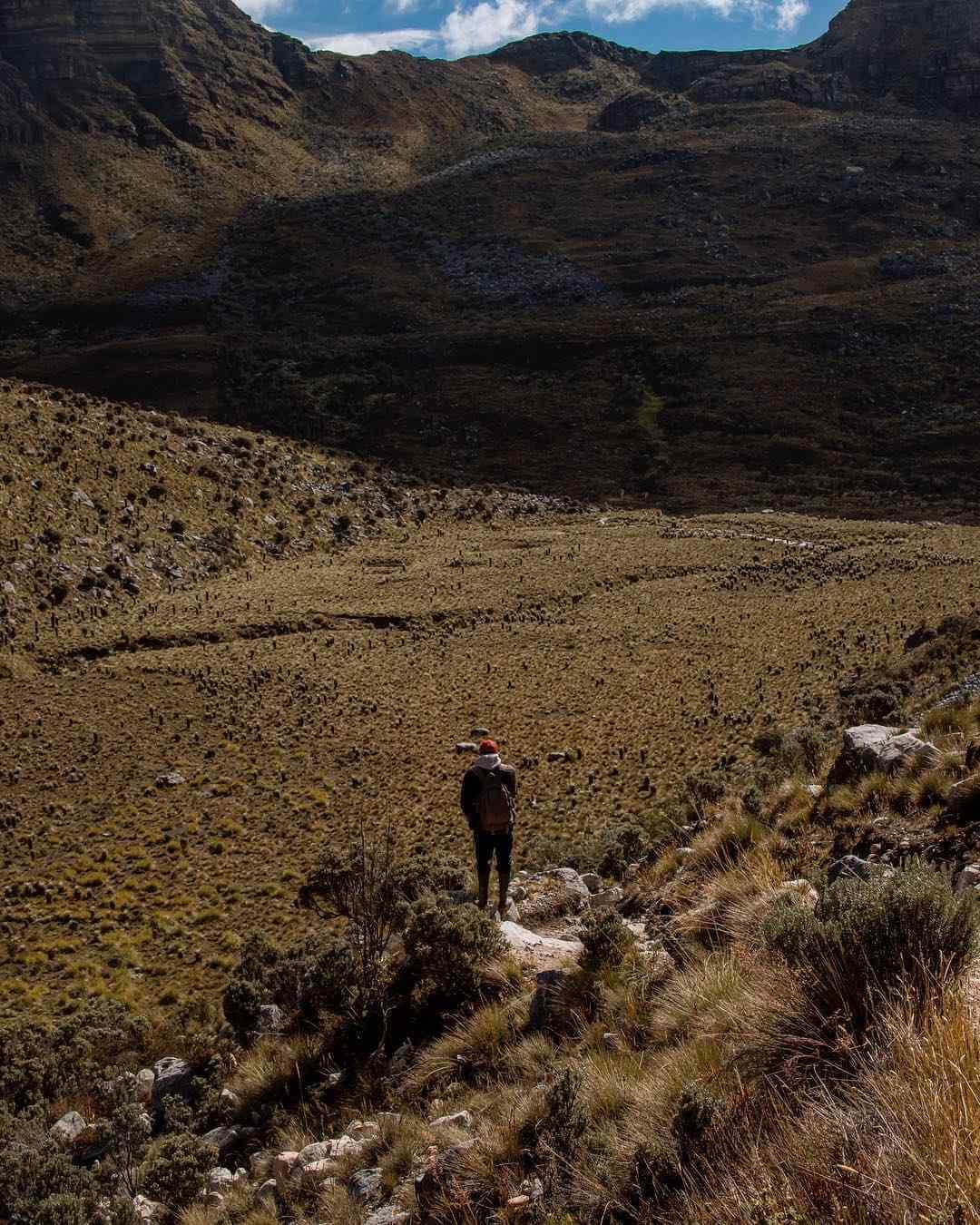Senderos del Parque Natural Nacional El Cocuy