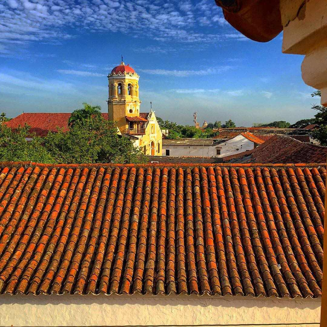 Iglesia Santa barbarba de Mompox