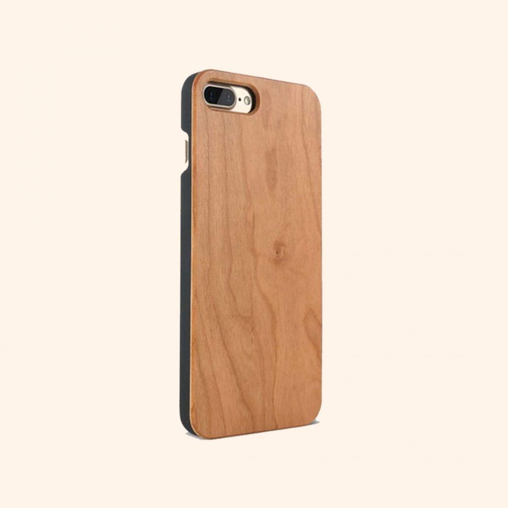 forros para celular en madera