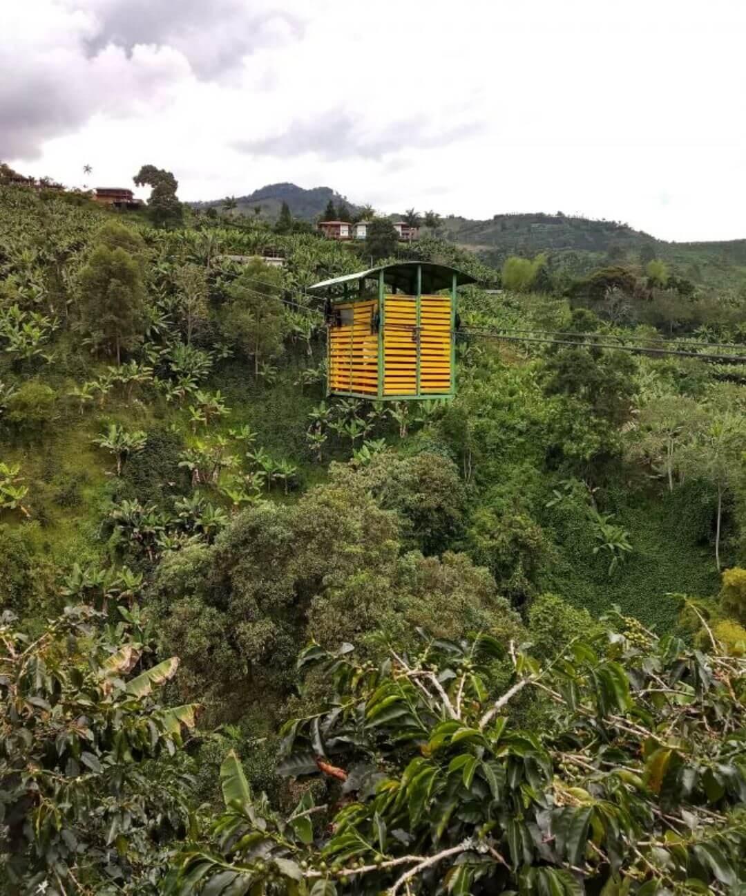 Cableway La Garrucha