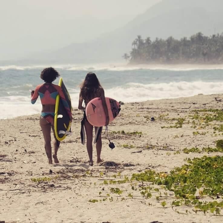 Clases de surf en Palomino
