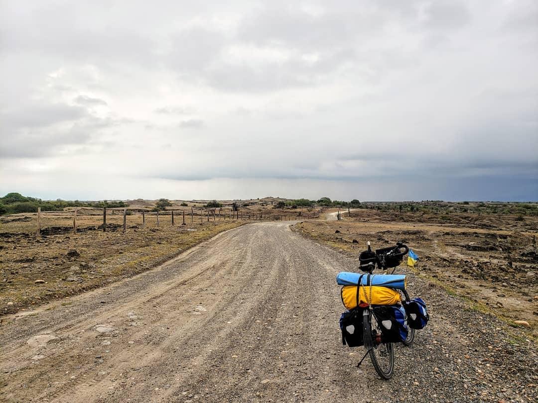 Bicycle rental in the Tatacoa desert