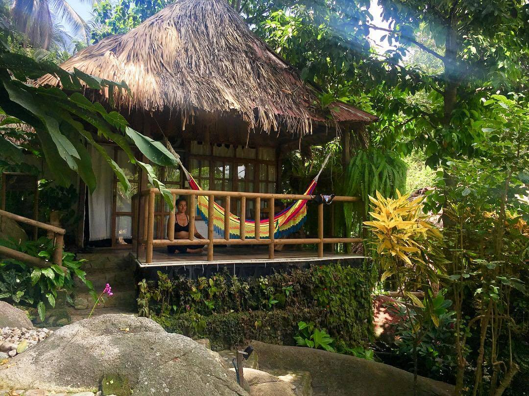 Hostels near the Tayrona Park in Colombia