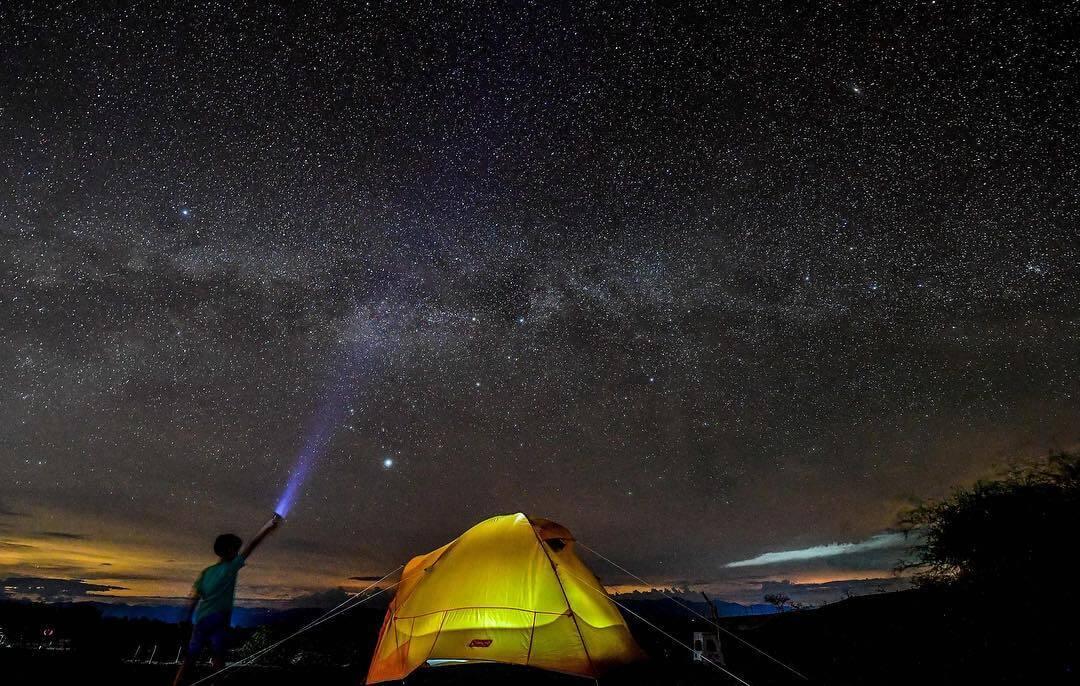 Night star of the Tatacoa desert
