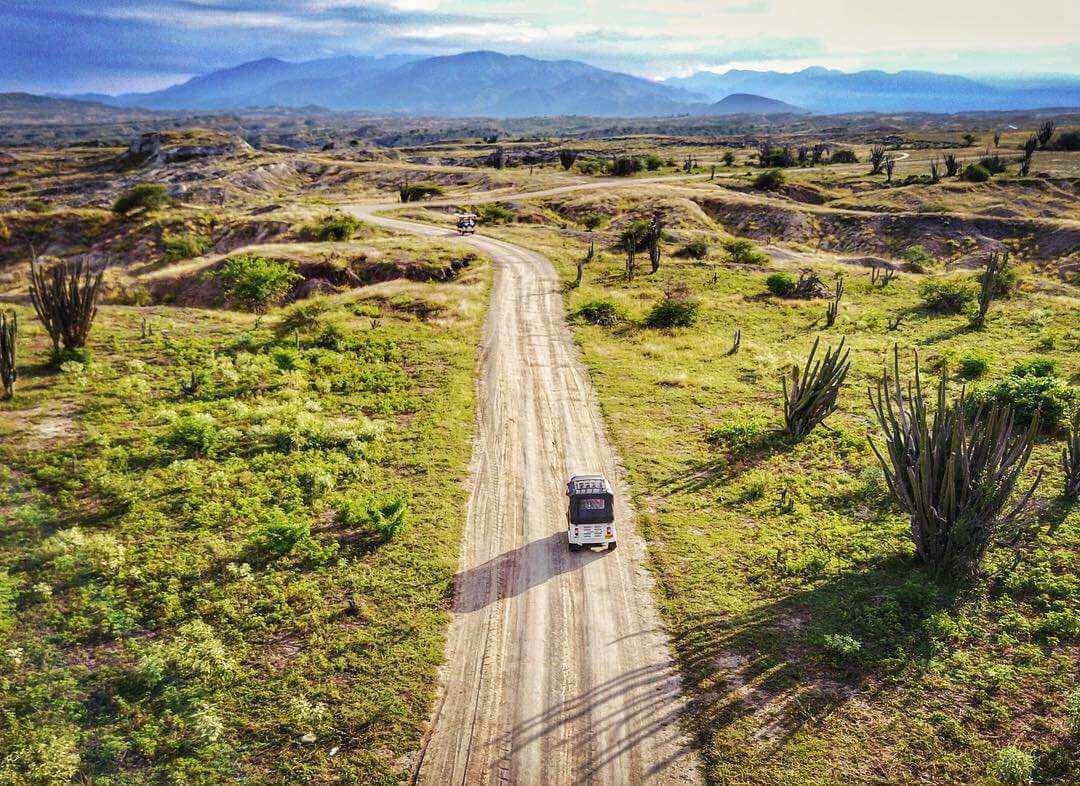 Transporte al desierto de la Tatacoa