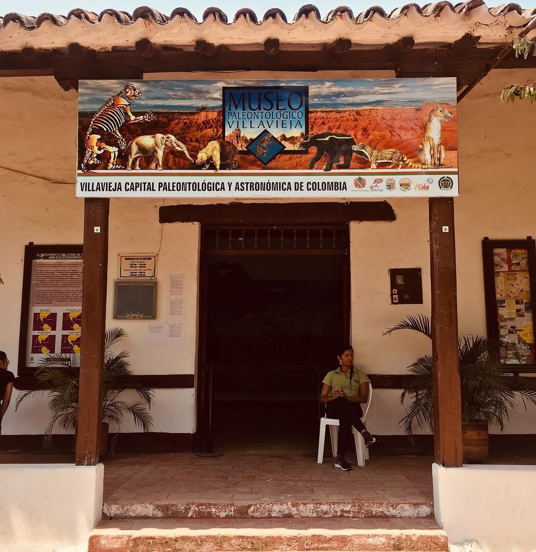 Museo paleontológico Villavieja precio
