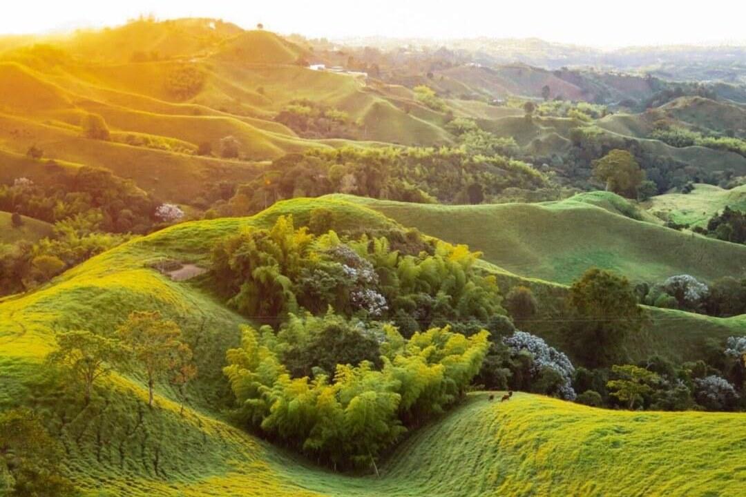 Vista desde el Mirador Colina Iluminada de Filandia