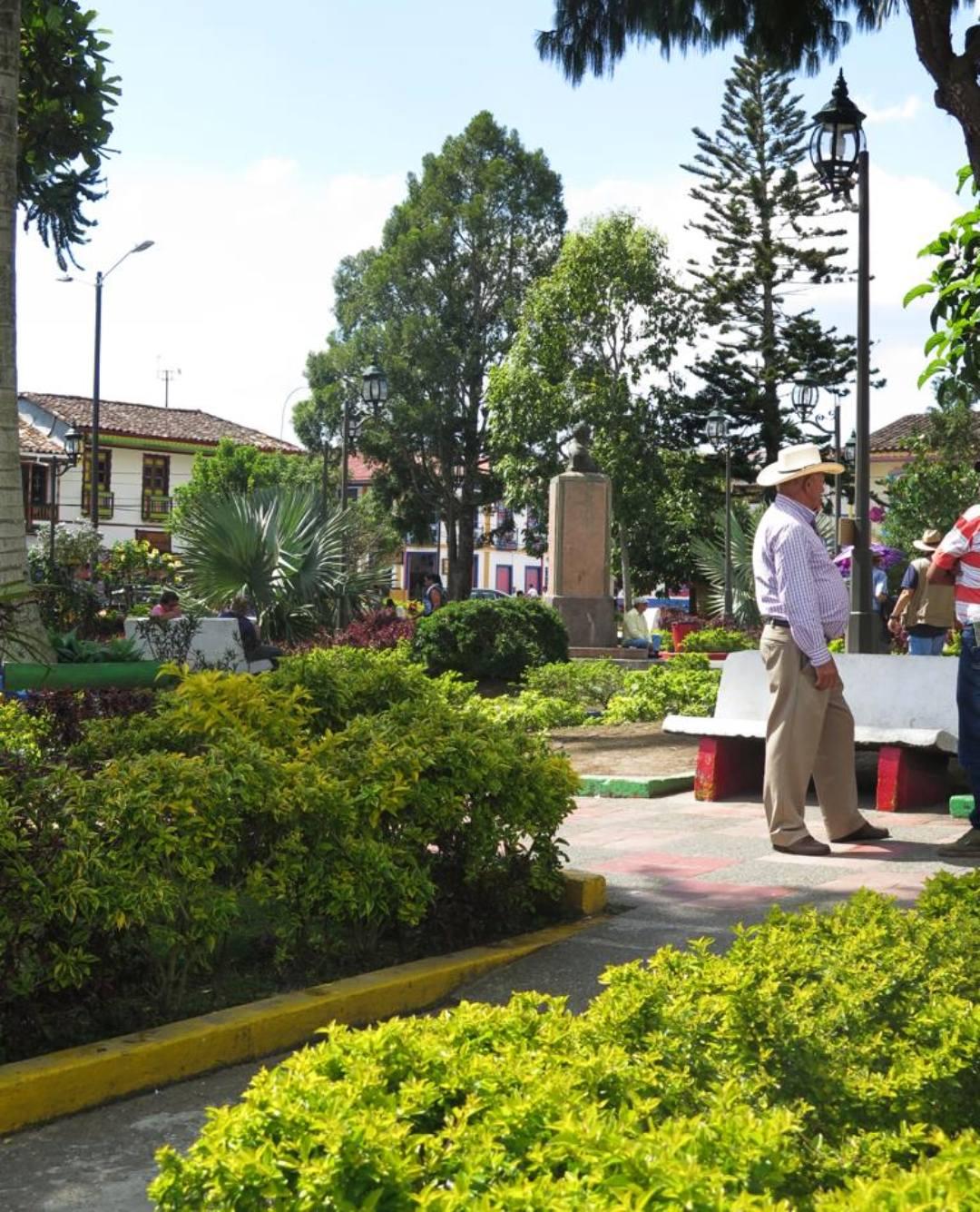 Población del eje cafetero Colombia