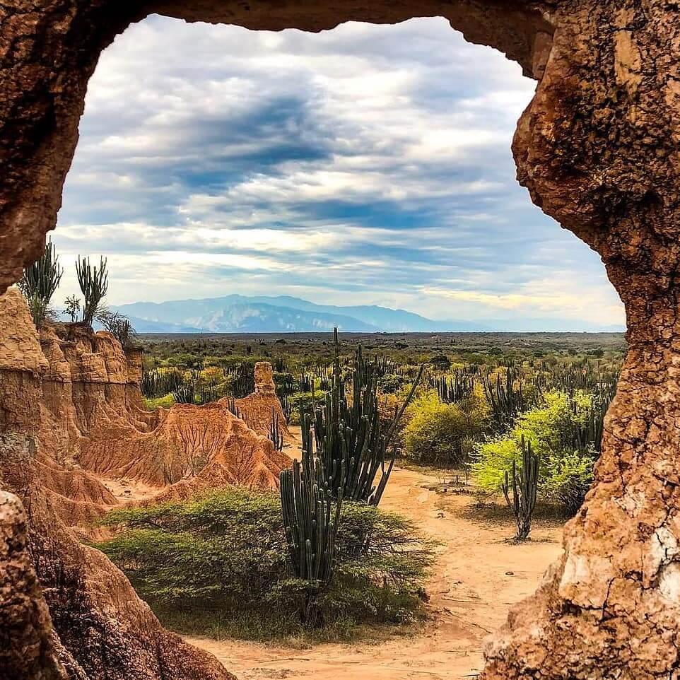 Windows of the Tatacoa desert