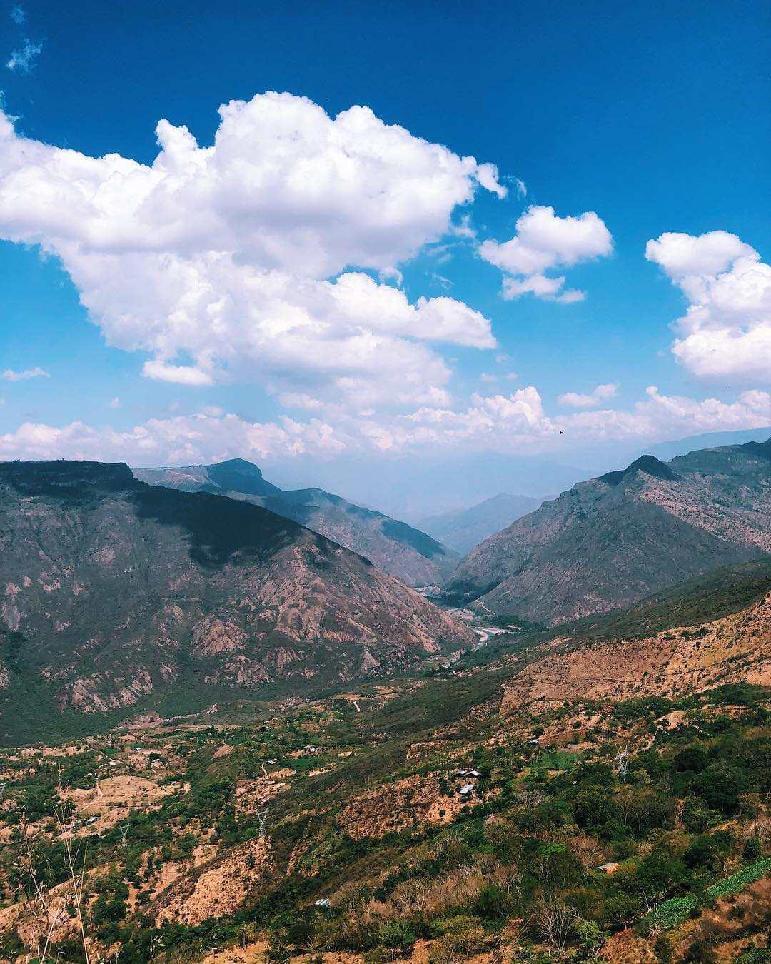 Pueblos de Colombia con rutas de Trekking