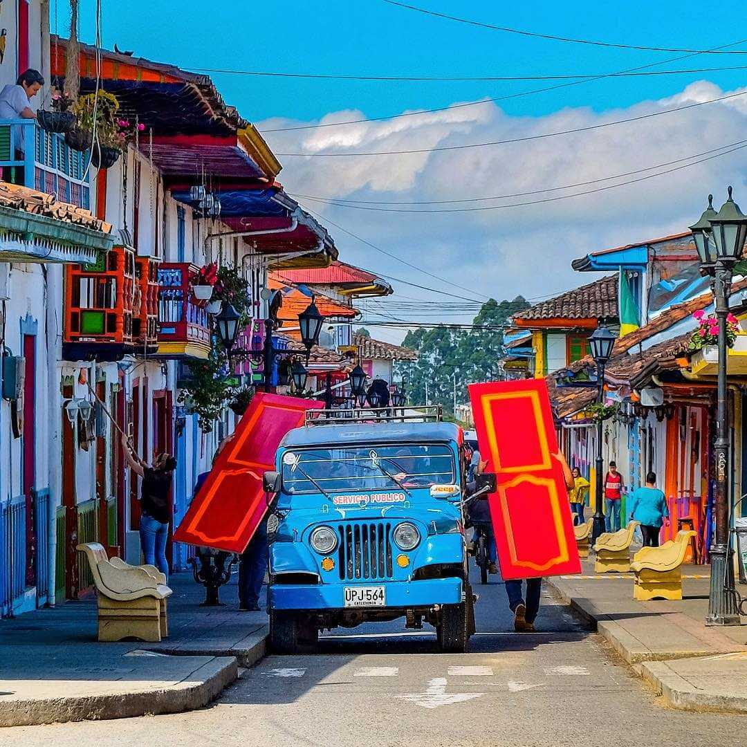 Calle Real Salento Colombia