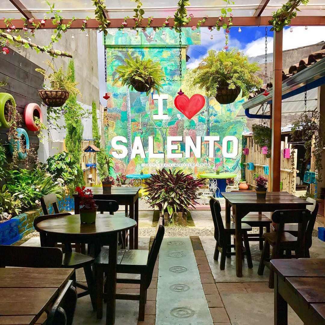Hoteles y hostales en Salento