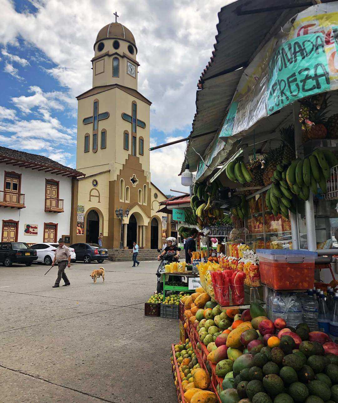 Iglesia Nuestra Señora del Carmen Quindío