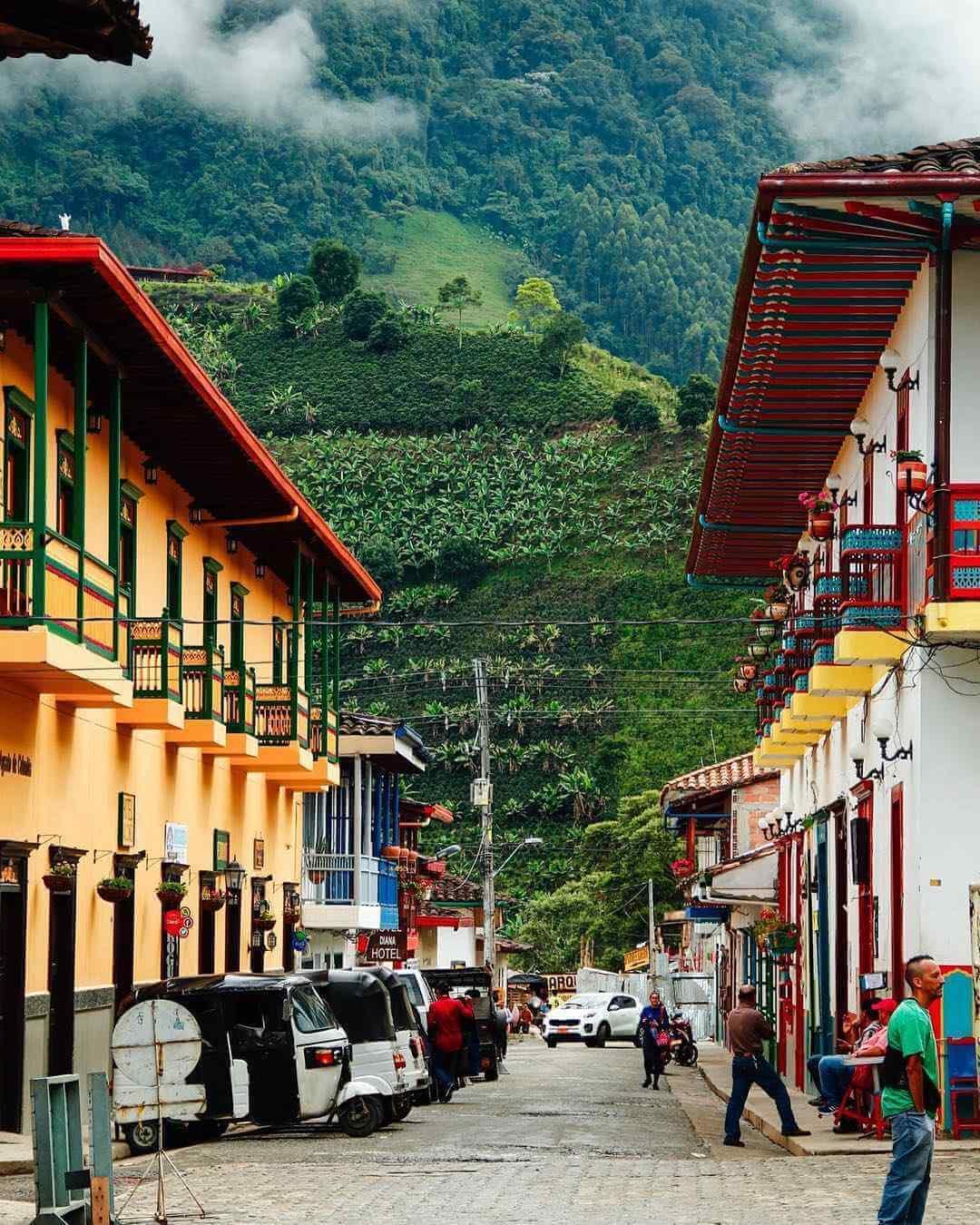 Villages near Medellín