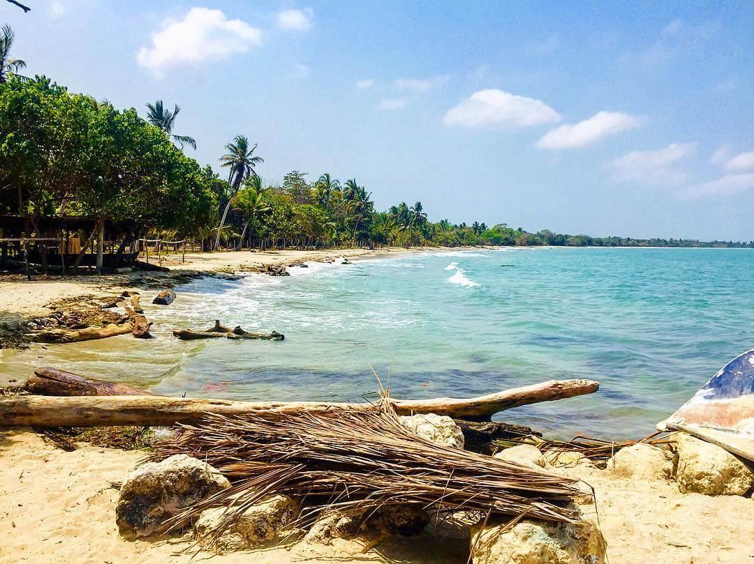 Playas del caribe colombiano