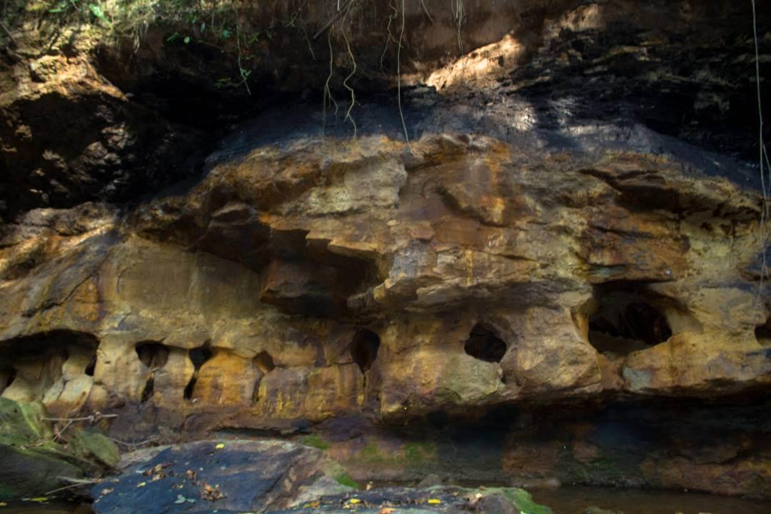 Piedras de la Caja de Agua Colombia
