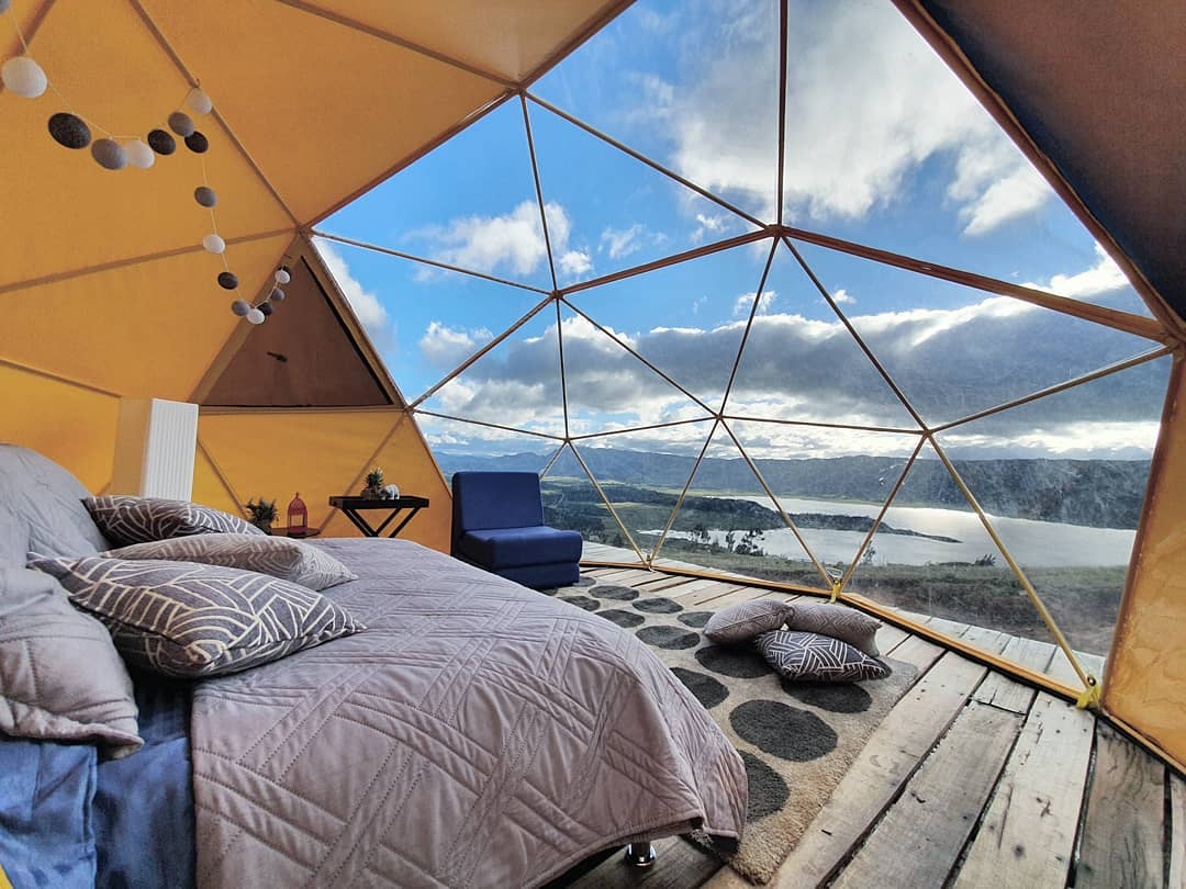 Where to camp near Bogotá
